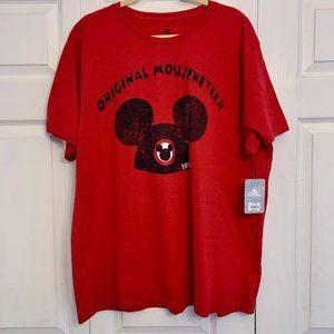 DISNEY red Original Mouseketeer t-shirt XXL